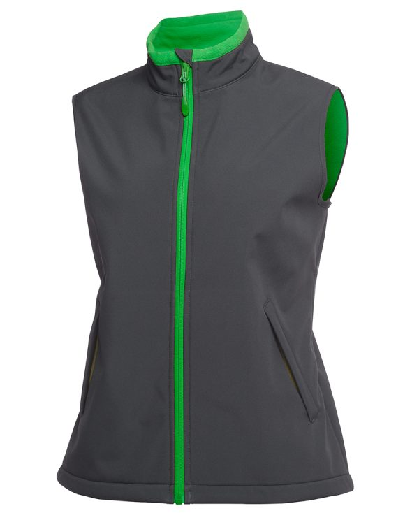 Charcoal/Pea Green