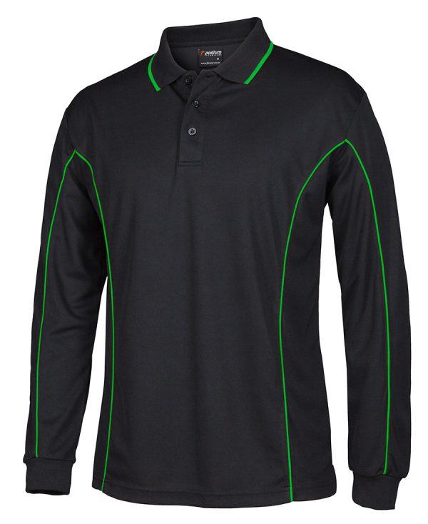 Black/Pea Green