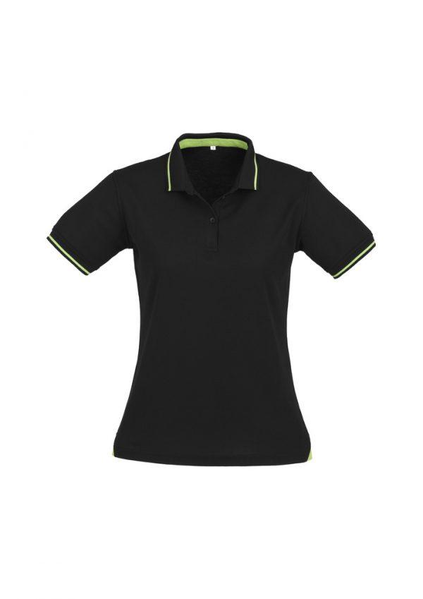 Black/Bright Green