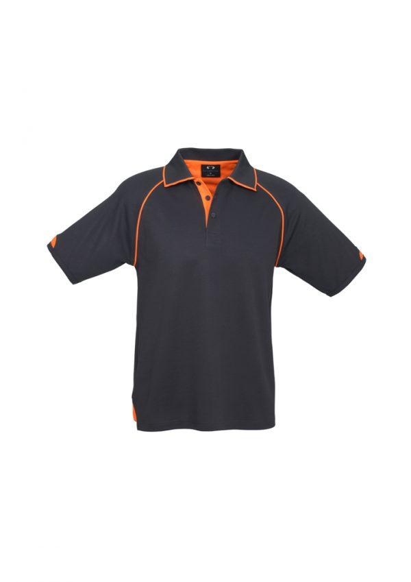 Grey/Fluro Orange