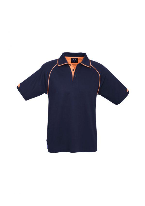 Navy/Fluoro Orange
