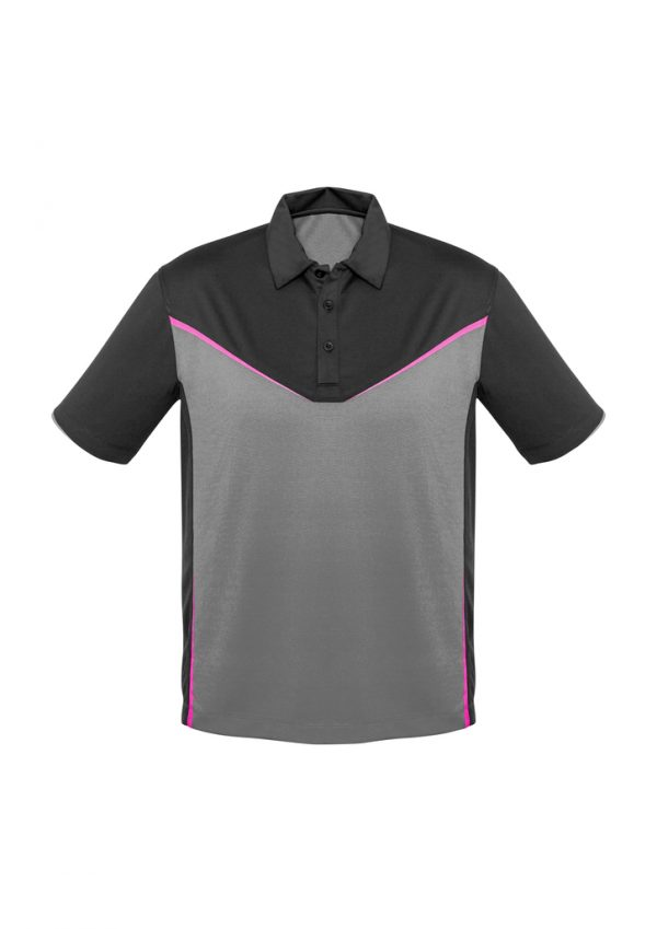 Grey/Silver/Fluoro Pink