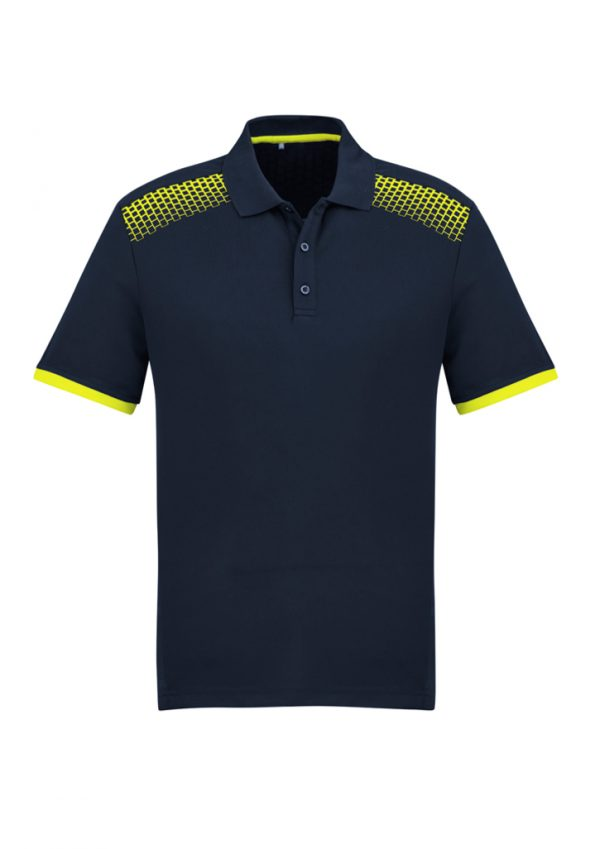 Navy/Fluoro Yellow