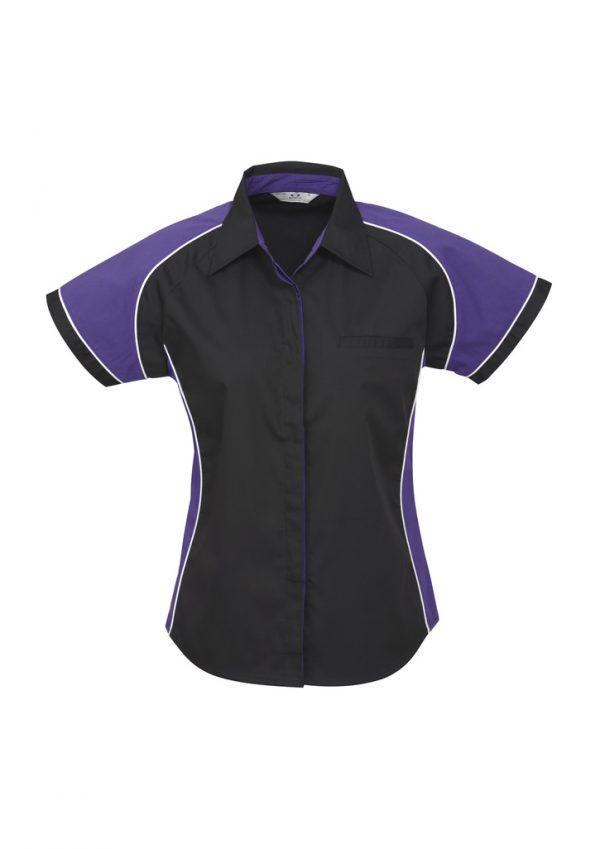 Black/Purple/White